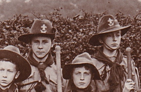 Bewdley scouts Tolley Rollins pc 1911 (1)