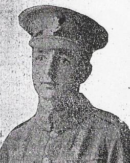 Private John ROLLINS 3rd Battalion Worcestershire Regiment (27809) Killed in action 24th August 1916