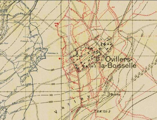 ovilliers trench map